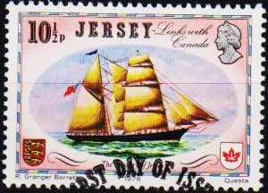 Jersey. 1978 10 1/2p S.G.192 Fine Used
