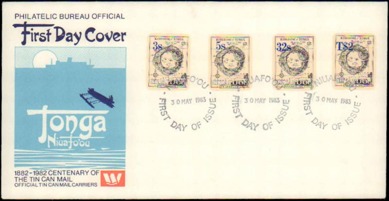 Tonga, Worldwide First Day Cover