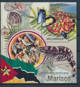 [I83] Mocambique 2013 Gastronomy good sheet  very fine MNH