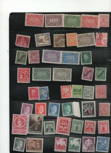 Germany stamp collection #4