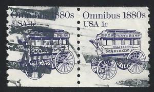 US #1897 1c Transportation Issue - Omnibus