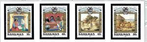 Bahamas 640-43 MNH 1988 Discovery of America