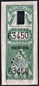 LS 81C Lock Seal: Series Y (1890-1913) Used