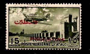 EGYPT Scott NC32 Used 1955 Airmail for use in Palestine