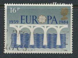Great Britain SG 1249 - Used - Europa