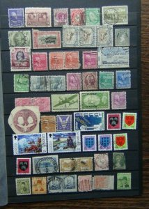 World with Burma 1r United States of America Guernsey Europa Kuwait 2/6 Used