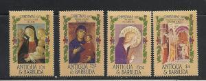 Antigua #905-8 comp mnh cv $4.35 Christmas