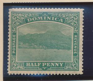 Dominica Stamp Scott #56, Mint Hinged - Free U.S. Shipping, Free Worldwide Sh...