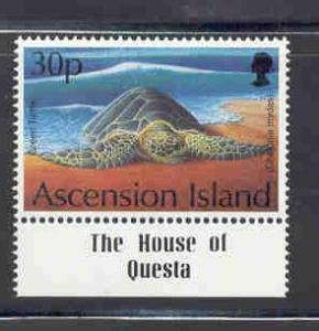 Ascension Sc 587 1994 30p Turtle stamp mint NH