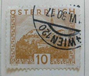 A5P37F26 Austria 1929-30 Perf 12 1/2 10g used