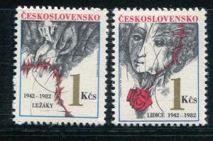 Czechoslovakia #2411-2 MNH