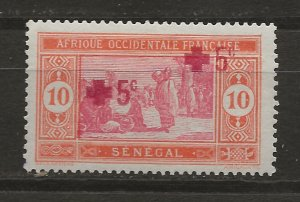 Senegal B1b Y&T 57 MH VF 1915 SCV $190.00 (jr)