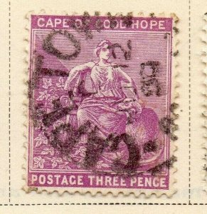 Cape of Good Hope 1886-98 Early Issue Fine Used 3d. 326725