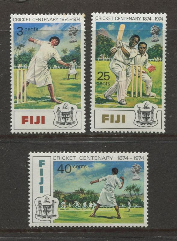 Fiji - Scott 344-346 - General Issue 1974 - MNH - Set of 3 Stamps