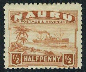 Nauru Scott 17 Unused lightly hinged.