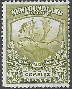 Newfoundland Scott Number 126 F Used