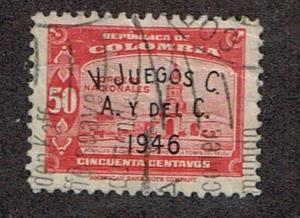 Colombia  1946  543 Used