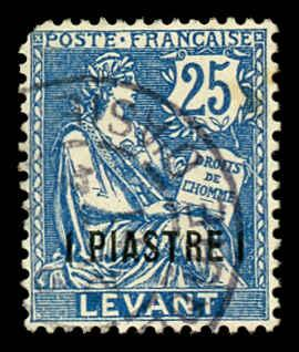 French Offices Abroad - Levant 34 Used