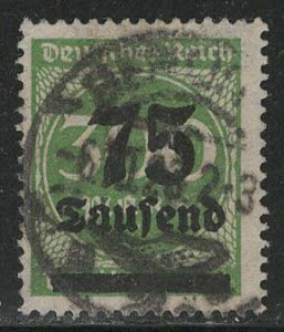 Germany Reich Scott # 250, used, exp h/s
