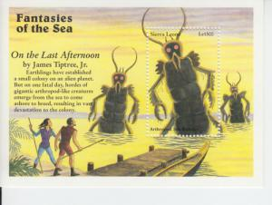 1996 Sierra Leone Arthopod Sea Monsters (Scott 1971)  MNH