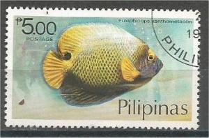 PHILIPPINES, 1978, CTO 5p, Fish Scott 1384
