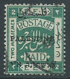 Palestine, Sc #16, 2m Used