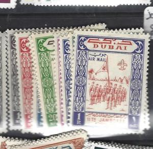 DUBAI (P1208B)  SG 50-9   MNH