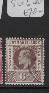 Cayman Islands SG 6 VFU (5dts)