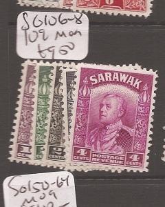 Sarawak SG 106-8, 109 MOG (9cev)