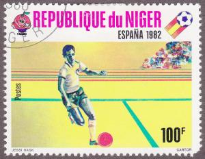 Niger 524 CTO 1980 World Cup Soccer