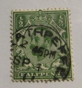 GREAT BRITAIN Scott #151  Θ used cds cancel, stamp  , fine + 102 card