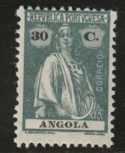 Angola  Scott 144 MNH** 30c Ceres stamp 1921
