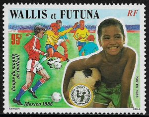 Wallis & Futuna #339 MNH Stamp - World Cup Soccer