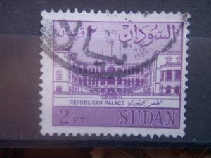 SUDAN, 1962, used 2p, Palace Scott 149