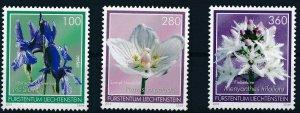 [I1173] Liechtenstein 2014 Flowers good set of stamps very fine MNH