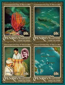 Penrhyn Island 1983 Commonwealth Day, MNH  #211,SG278a