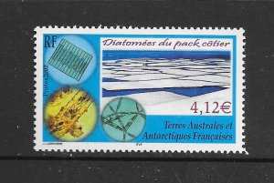 FRENCH SOUTHERN ANTARCTIC TERRITORIES #309 PACK ICE DIATOMS  MNH