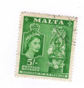 Malta #260 Used - Stamp CAT VALUE $3.25