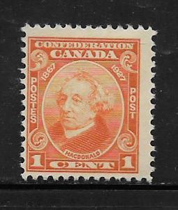CANADA,141, MINT HINGED, SIR JOHN A MACDONALD
