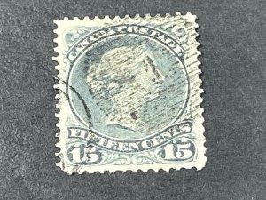 CANADA # 30--USED----SINGLE----GRAY----1868-76