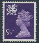 Great Britain Wales  SG W21 SC# WMMH6 Used  see scan 1 center band