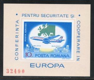 Romania  C212  MNH Europa  Souvenir Sheet from 1977