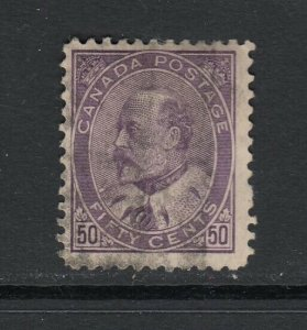 Canada, Sc 95 (SG 187), used