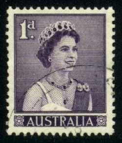 Australia #314 Queen Elizabeth II; used (0.25)