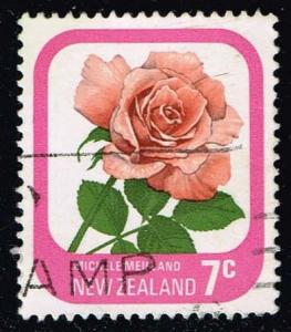 New Zealand #590 Michele Meilland Rose; used (0.25)