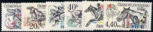 Czechoslovakia 1978 Steeplechase set of 6 unmounted mint,...