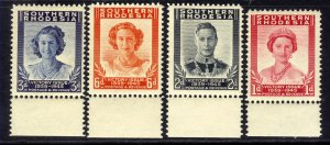Southern Rhodesia 1947 KGV1 Victory set umm SG 64 - 67 ( J148 )