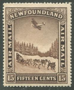 NEWFOUNDLAND C6 MINT F/VF