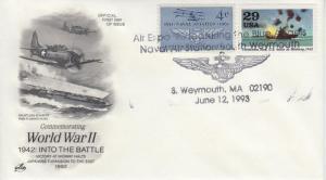 1993 Air Expo NAS South Weymouth MA Pictorial Artcraft