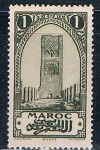 French Morocco 90 MLH Tower of Hassan 1923 (F0112)+